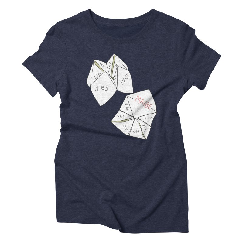 Simple Answer Women's Triblend T-Shirt by bad arithmetic