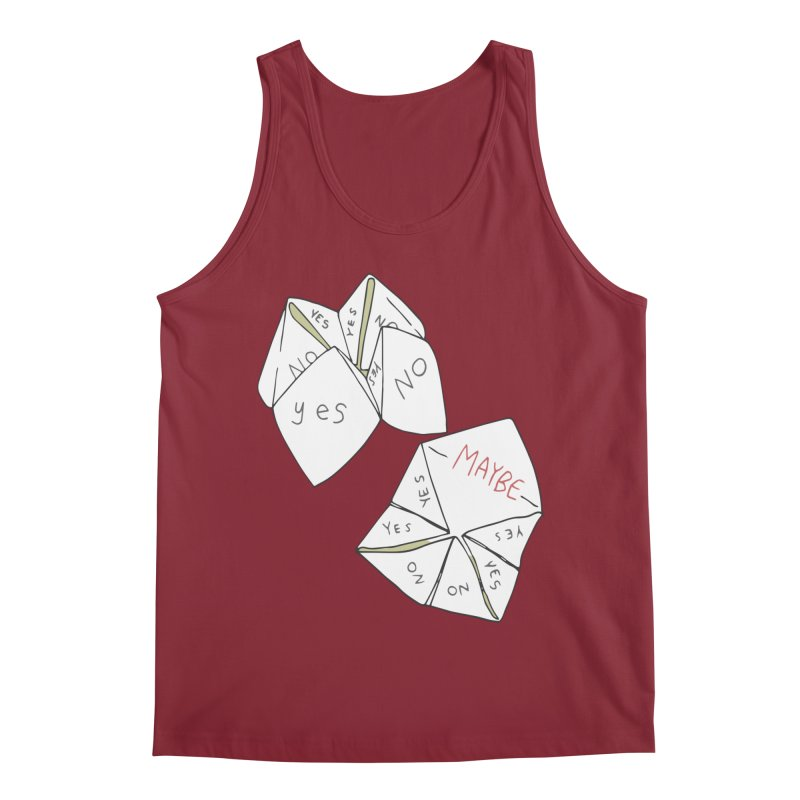 Simple Answer Men's Tank by bad arithmetic