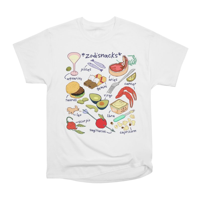 Zodisnacks Men's Heavyweight T-Shirt by bad arithmetic