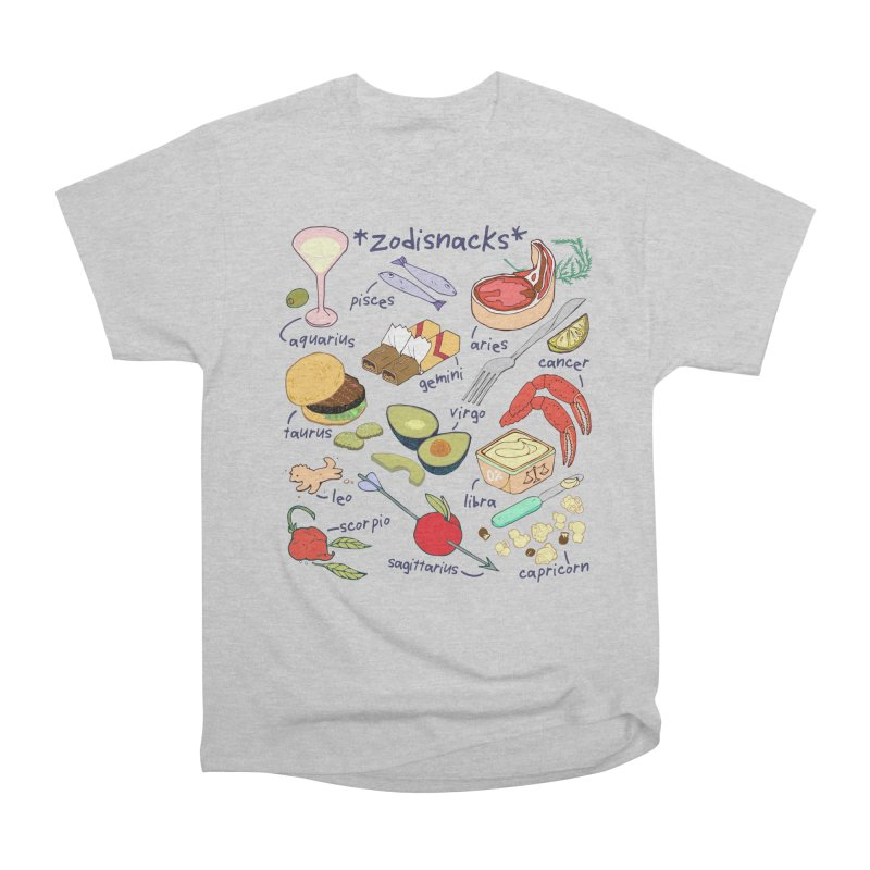 Zodisnacks Women's Heavyweight Unisex T-Shirt by bad arithmetic