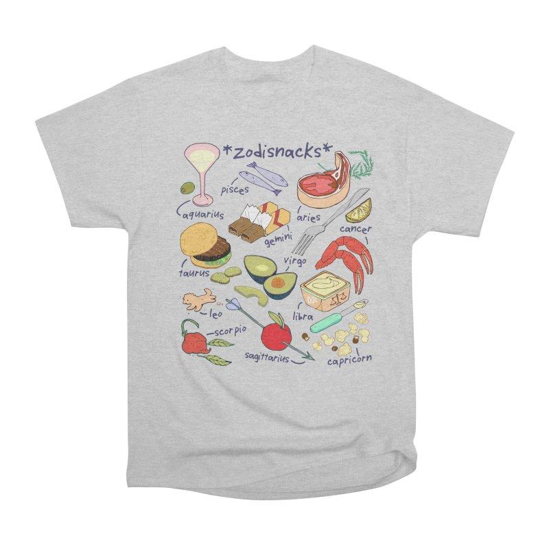 Zodisnacks Men's Heavyweight T-Shirt by napiform clip art