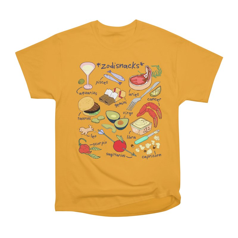 Zodisnacks Women's Heavyweight Unisex T-Shirt by bad arithmetic