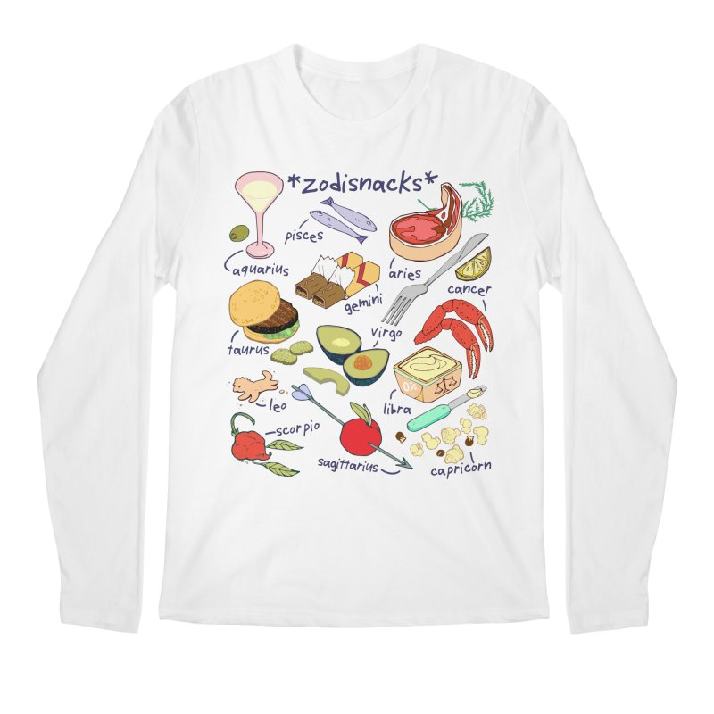 Zodisnacks Men's Regular Longsleeve T-Shirt by bad arithmetic