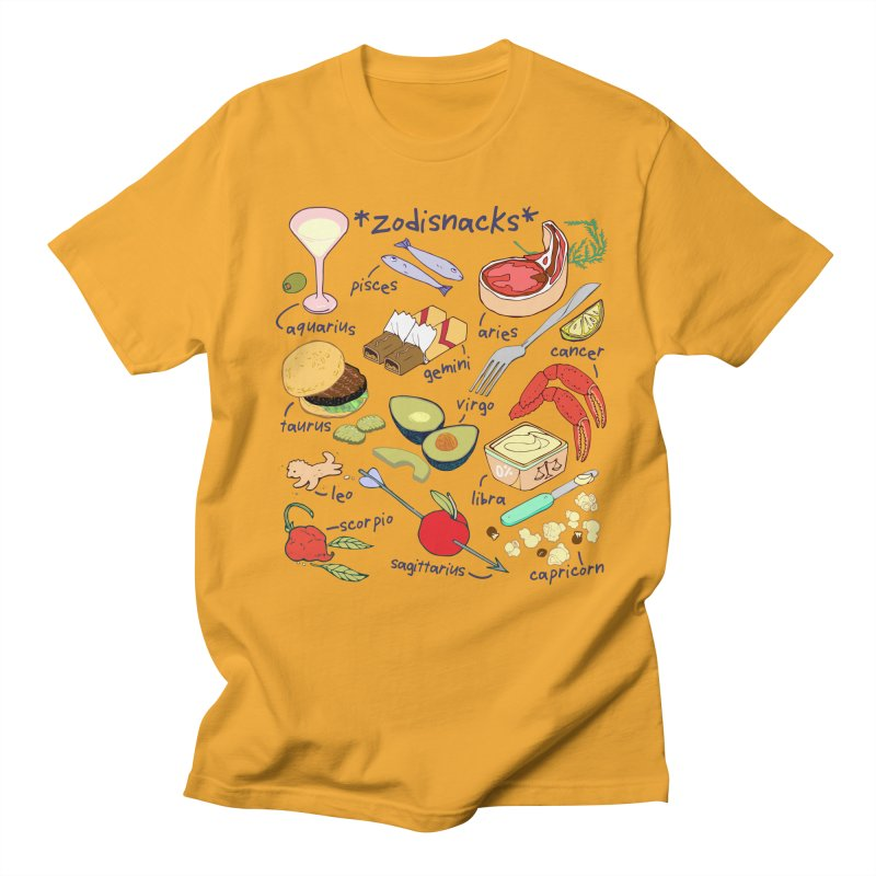Zodisnacks Men's Regular T-Shirt by bad arithmetic