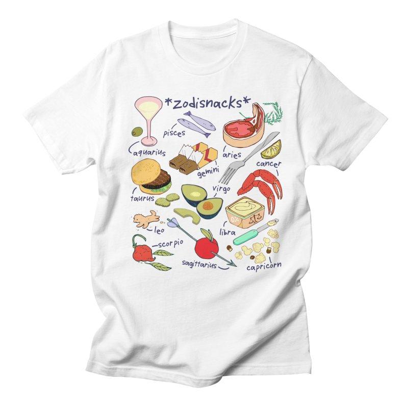 Zodisnacks Women's Regular Unisex T-Shirt by bad arithmetic