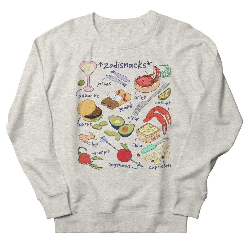 Zodisnacks Women's French Terry Sweatshirt by napiform clip art