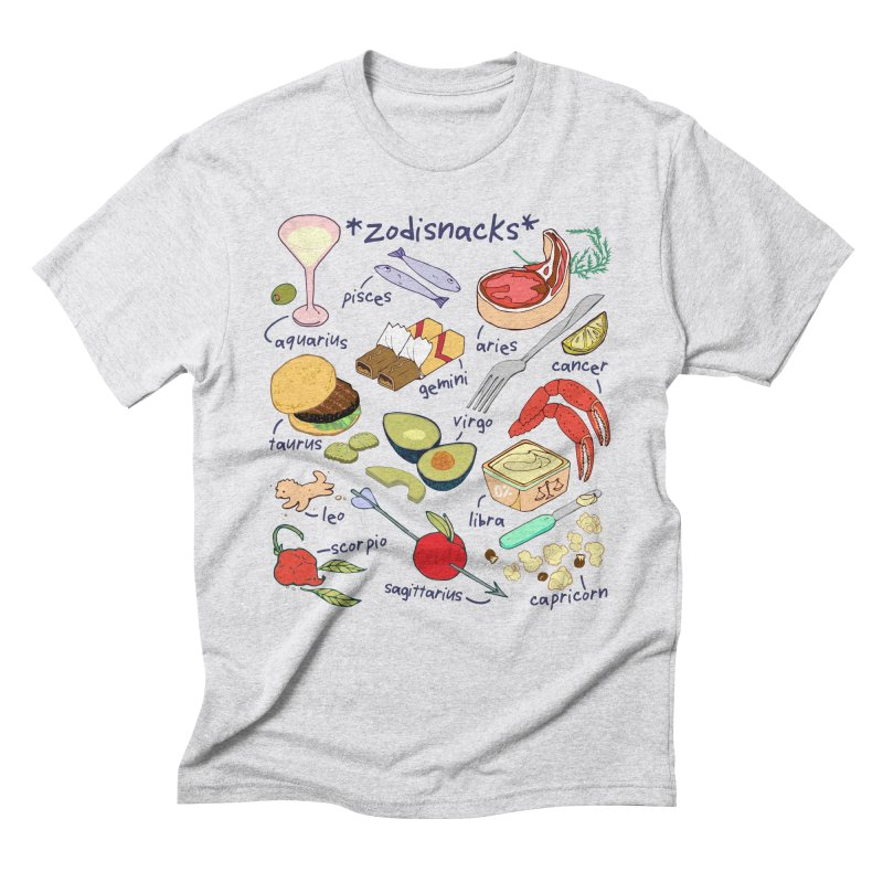 Zodisnacks Men's Triblend T-Shirt by bad arithmetic