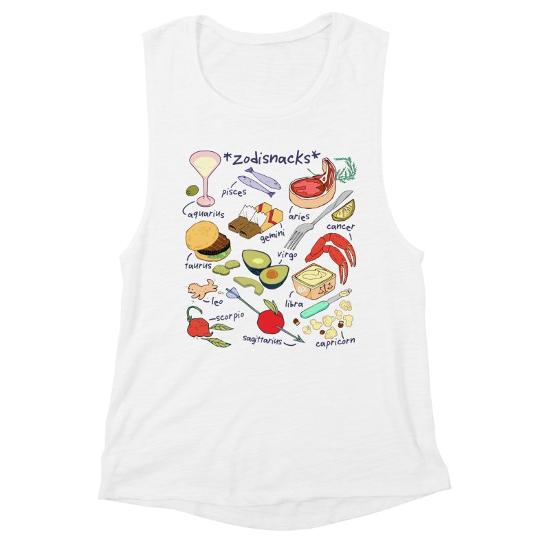 Zodisnacks Women's Muscle Tank by bad arithmetic