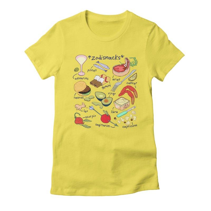 Zodisnacks Women's T-Shirt by bad arithmetic