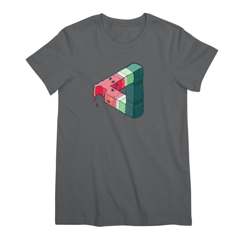Juicy Geometry Women's Premium T-Shirt by bad arithmetic