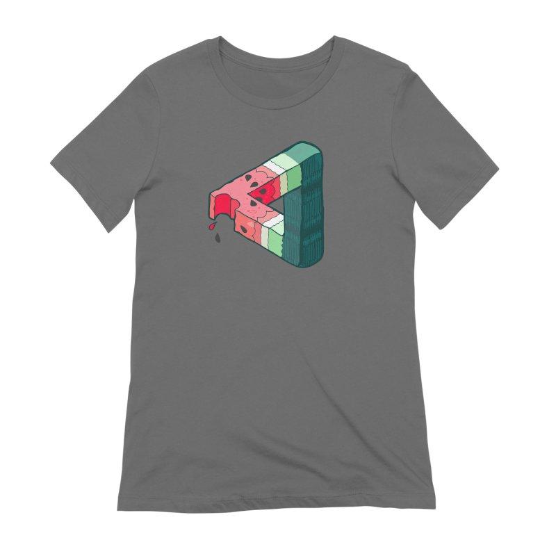 Juicy Geometry Women's T-Shirt by bad arithmetic