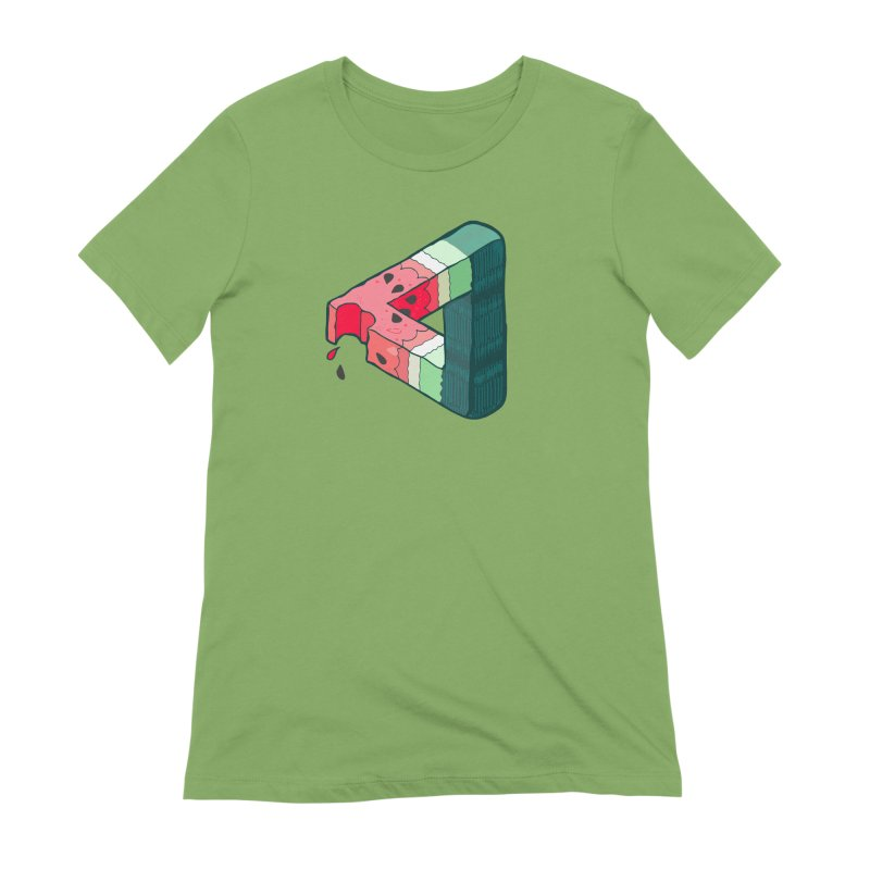 Juicy Geometry Women's Extra Soft T-Shirt by bad arithmetic