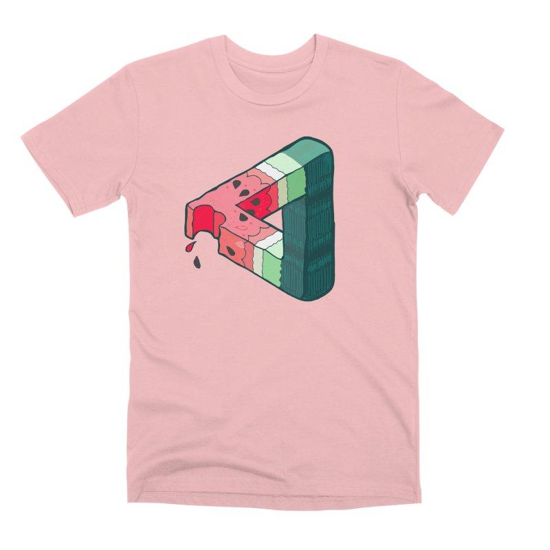 Juicy Geometry Men's Premium T-Shirt by bad arithmetic