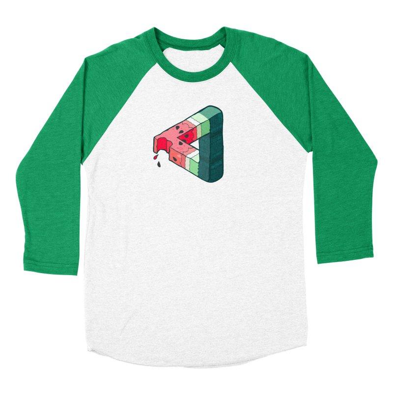 Juicy Geometry Women's Baseball Triblend Longsleeve T-Shirt by bad arithmetic