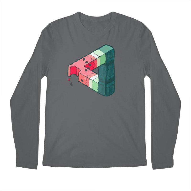 Juicy Geometry Men's Regular Longsleeve T-Shirt by bad arithmetic