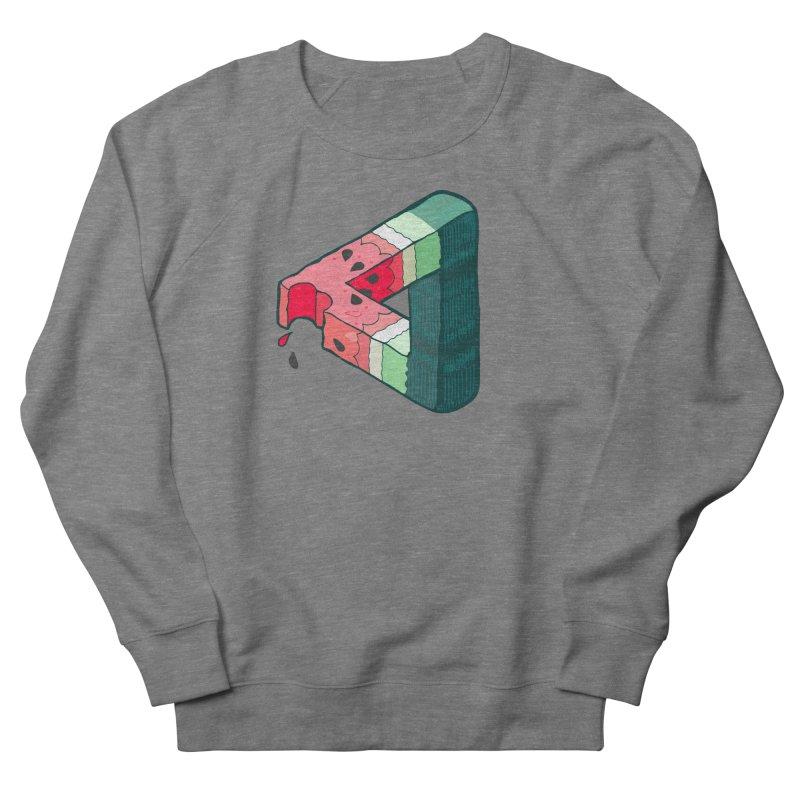 Juicy Geometry Women's French Terry Sweatshirt by bad arithmetic