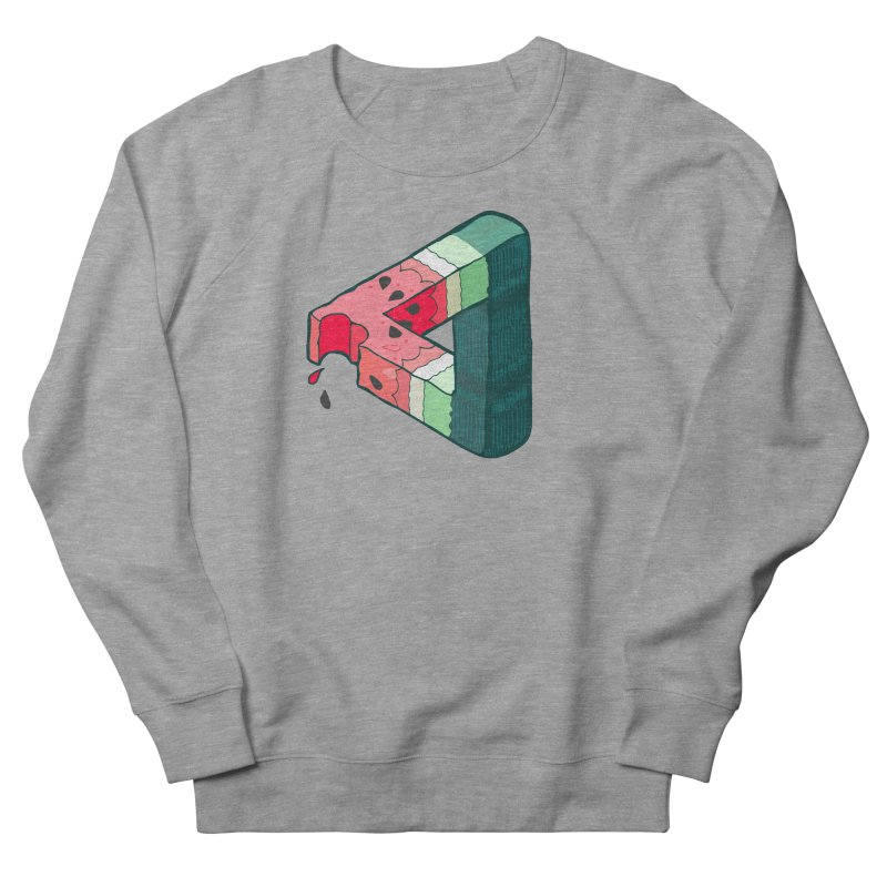 Juicy Geometry Women's French Terry Sweatshirt by bad arithmetic
