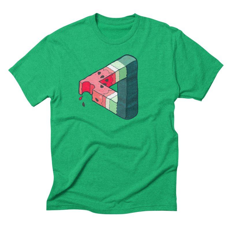Juicy Geometry Men's Triblend T-Shirt by bad arithmetic
