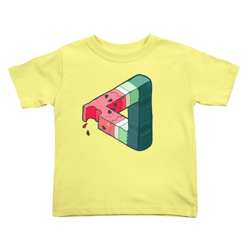 Juicy Geometry Kids Toddler T-Shirt by bad arithmetic