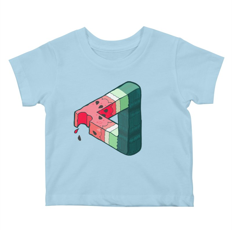 Juicy Geometry Kids Baby T-Shirt by bad arithmetic