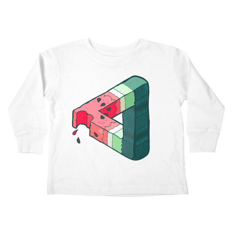 Juicy Geometry Kids Toddler Longsleeve T-Shirt by bad arithmetic