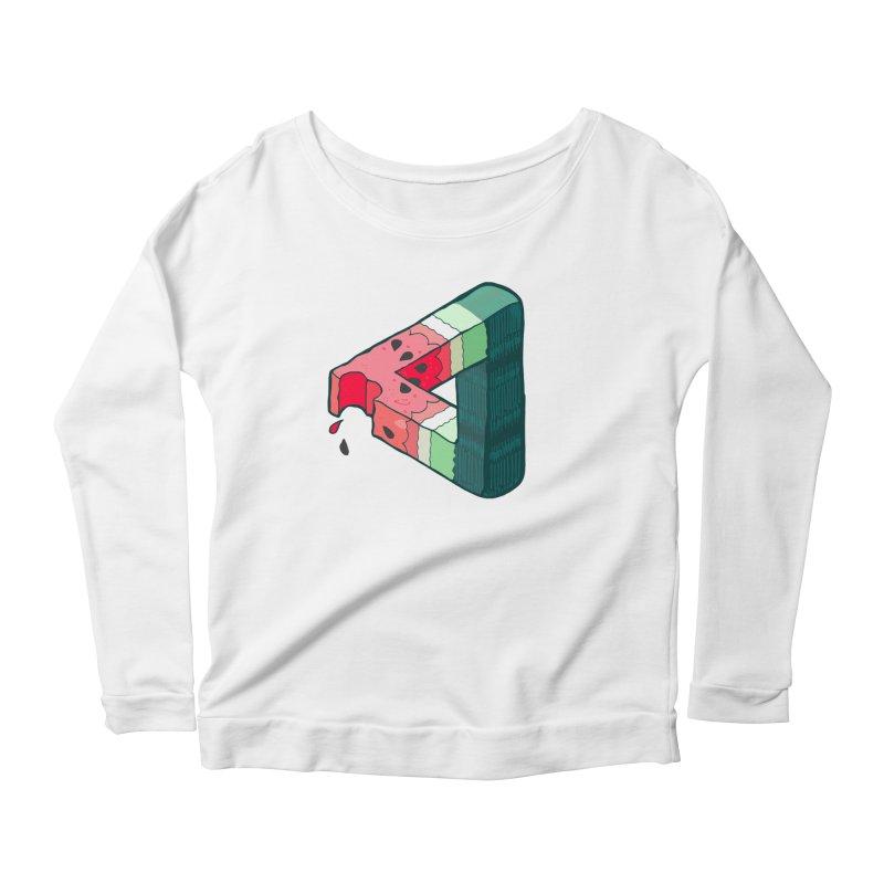 Juicy Geometry Women's Scoop Neck Longsleeve T-Shirt by bad arithmetic