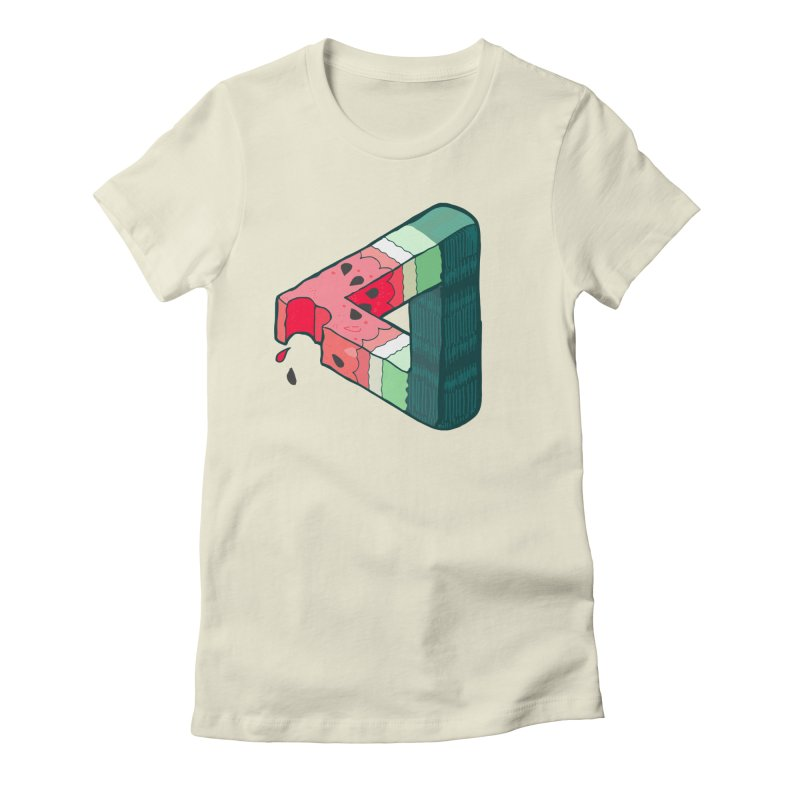 Juicy Geometry Women's Fitted T-Shirt by bad arithmetic