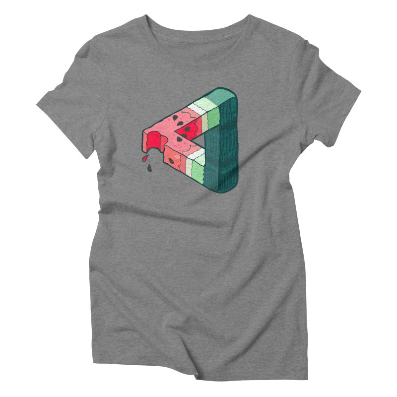 Juicy Geometry Women's Triblend T-Shirt by bad arithmetic