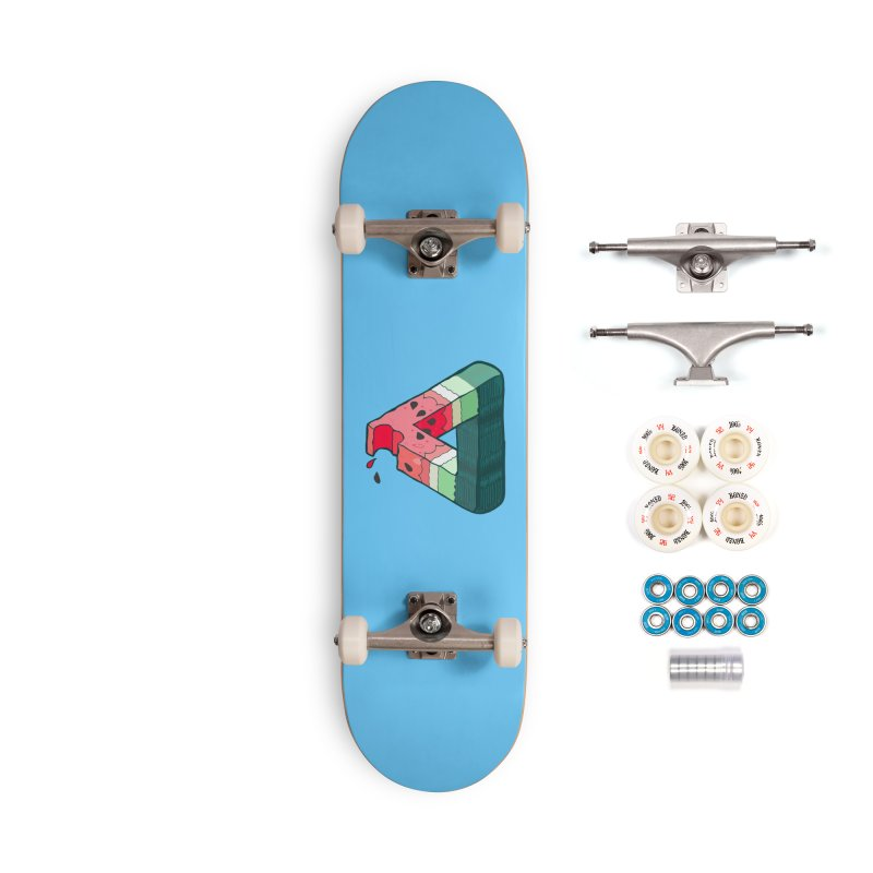 Juicy Geometry Accessories Complete - Premium Skateboard by bad arithmetic