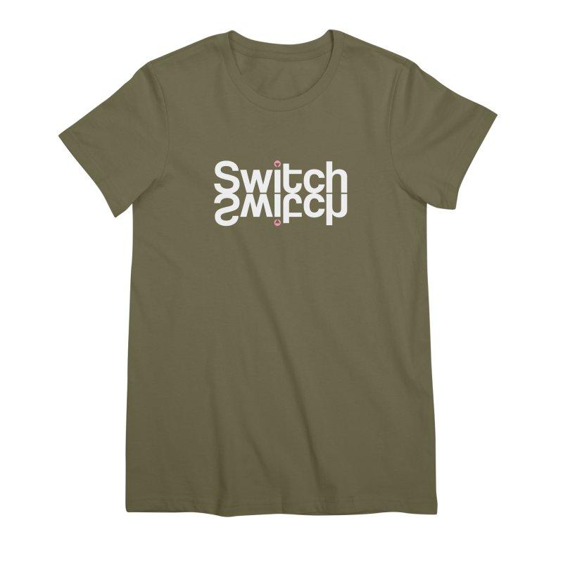 Thirsty Switch Women's Premium T-Shirt by Baddassery