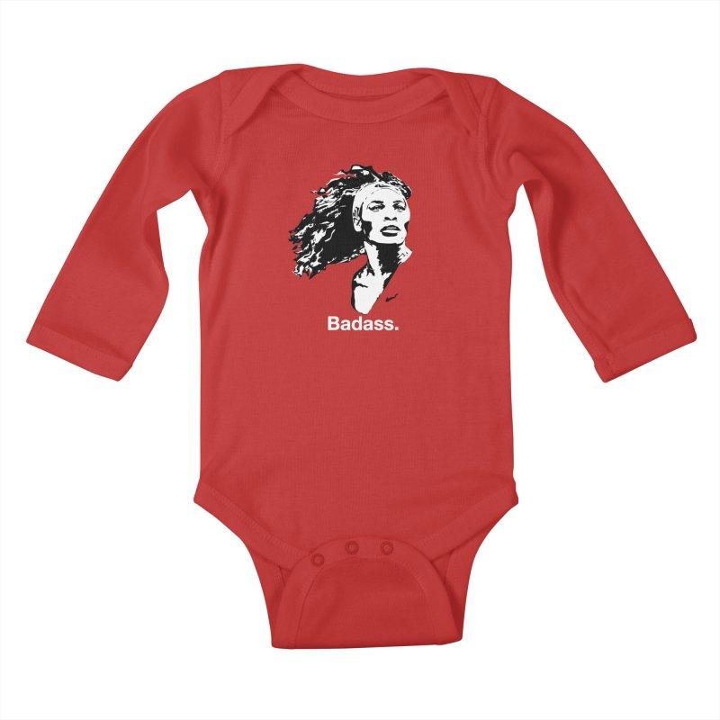 Serena Williams Kids Baby Longsleeve Bodysuit by Baddassery