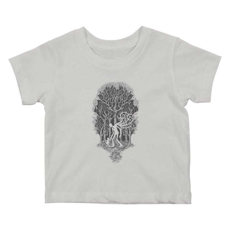 F O L L O W S Kids Baby T-Shirt by badbasilisk's Artist Shop