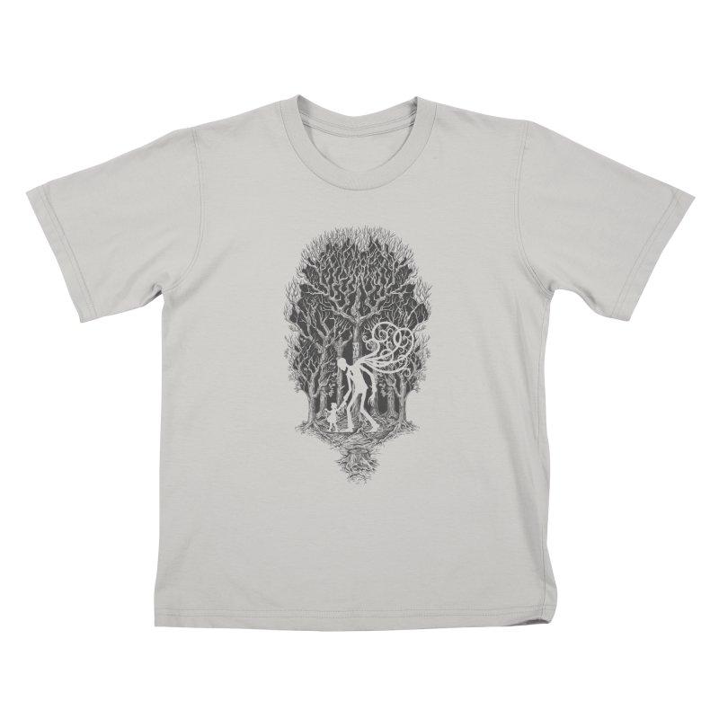 F O L L O W S Kids T-Shirt by badbasilisk's Artist Shop