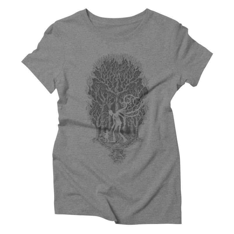 F O L L O W S Women's Triblend T-Shirt by badbasilisk's Artist Shop