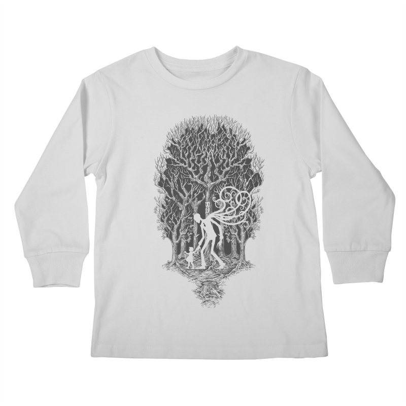 F O L L O W S Kids Longsleeve T-Shirt by badbasilisk's Artist Shop