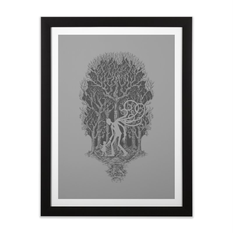 F O L L O W S Home Framed Fine Art Print by badbasilisk's Artist Shop