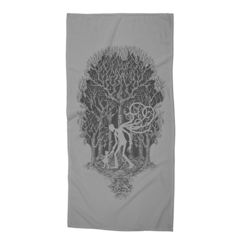 F O L L O W S Accessories Beach Towel by badbasilisk's Artist Shop