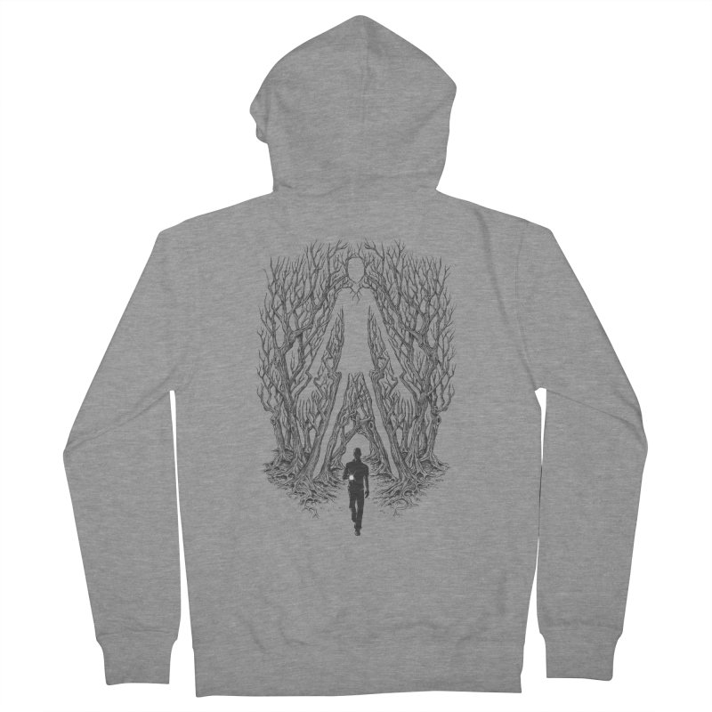 Always Watches - NO EYES Men's Zip-Up Hoody by badbasilisk's Artist Shop