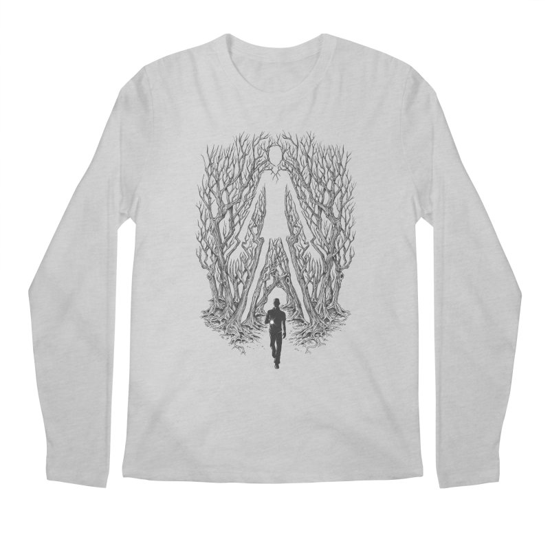 Always Watches - NO EYES Men's Longsleeve T-Shirt by badbasilisk's Artist Shop