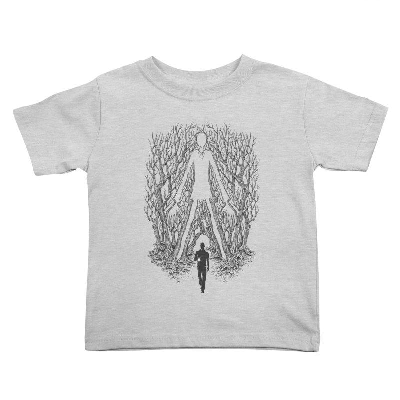Always Watches - NO EYES Kids Toddler T-Shirt by badbasilisk's Artist Shop