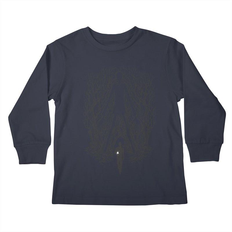 Always Watches - NO EYES Kids Longsleeve T-Shirt by badbasilisk's Artist Shop