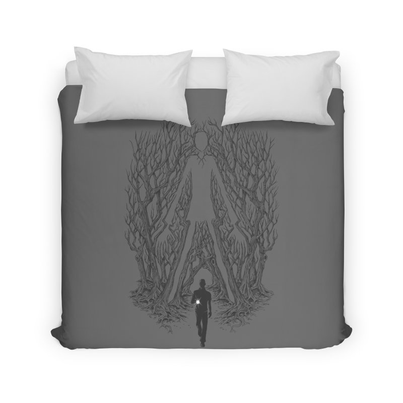 Always Watches - NO EYES Home Duvet by badbasilisk's Artist Shop