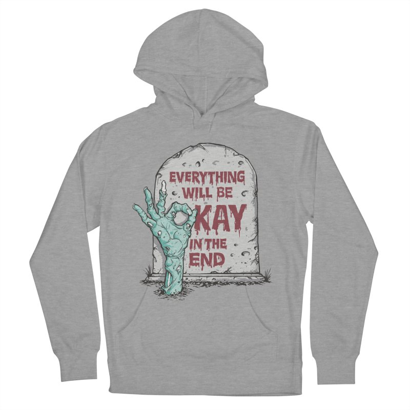 in the end Men's Pullover Hoody by badbasilisk's Artist Shop