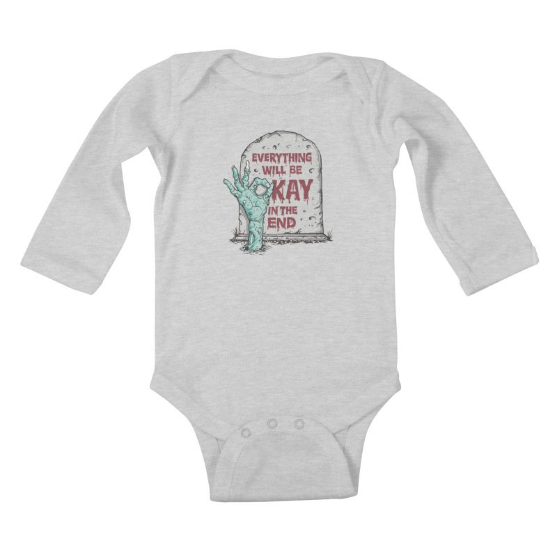 in the end Kids Baby Longsleeve Bodysuit by badbasilisk's Artist Shop