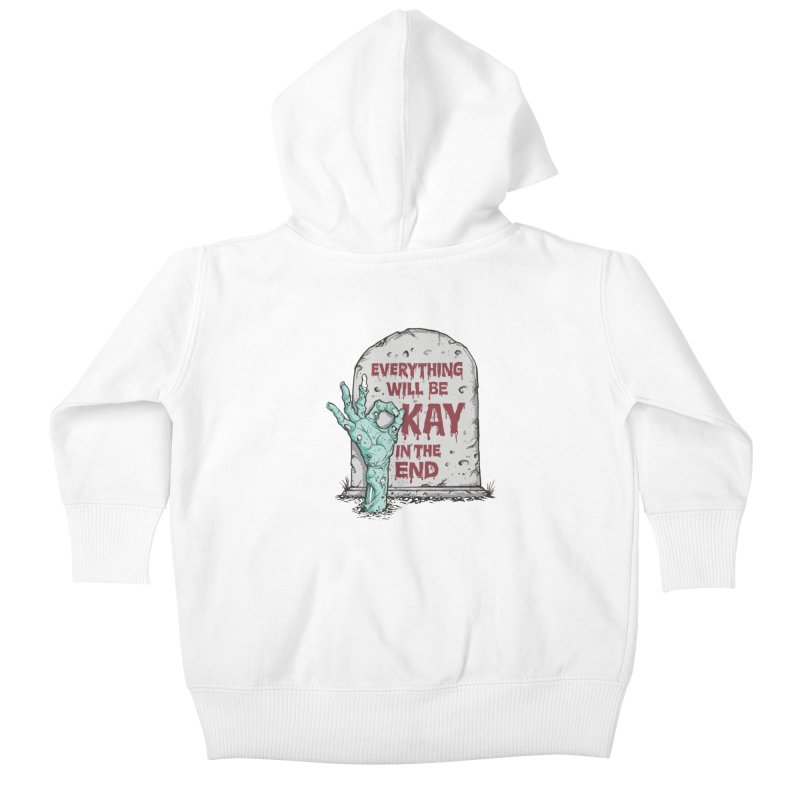 in the end Kids Baby Zip-Up Hoody by badbasilisk's Artist Shop