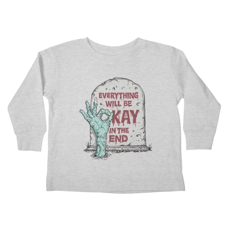 in the end Kids Toddler Longsleeve T-Shirt by badbasilisk's Artist Shop