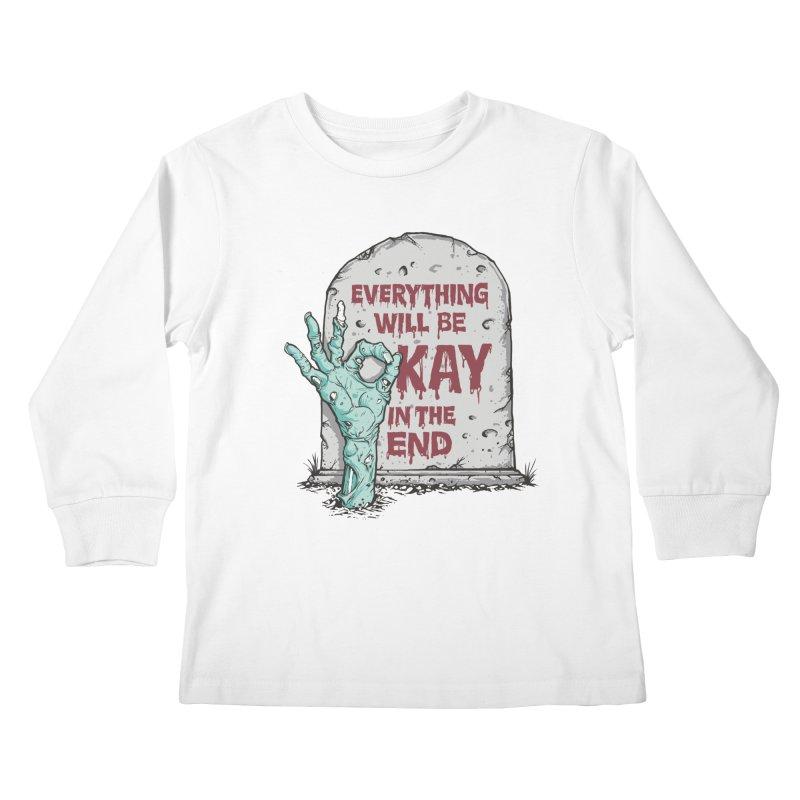 in the end Kids Longsleeve T-Shirt by badbasilisk's Artist Shop