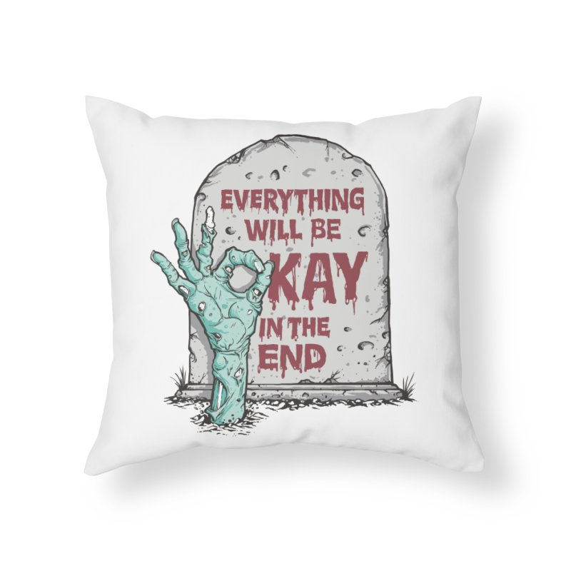 in the end Home Throw Pillow by badbasilisk's Artist Shop