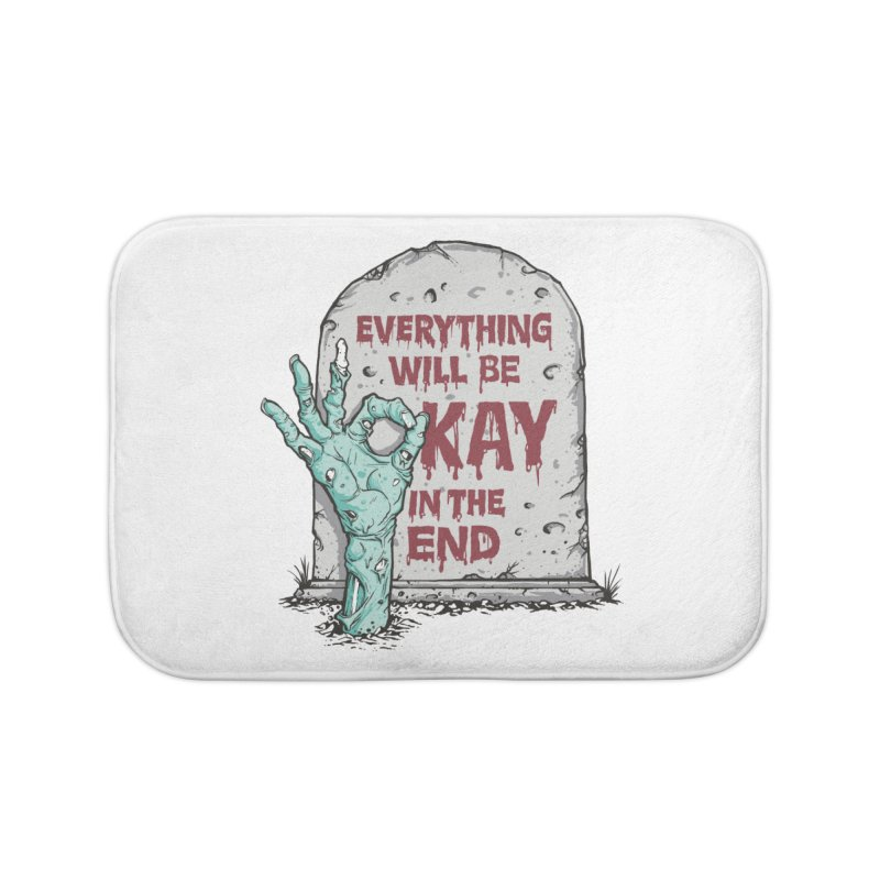 in the end Home Bath Mat by badbasilisk's Artist Shop