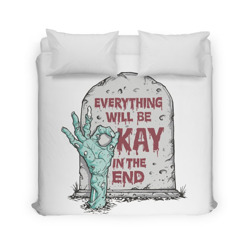 in the end Home Duvet by badbasilisk's Artist Shop